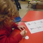Chinese New Year Child Mark Making
